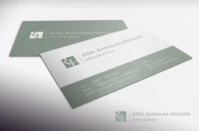 JUDr. Radoslava Hoglová | Corporate identity