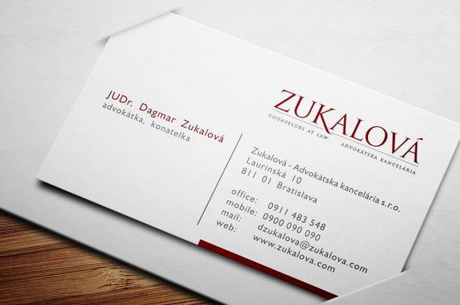 Advokátska kancelária Zukalová | re-branding