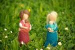 V náruči | plstené bábiky